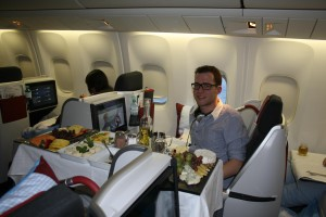 Business Class Chef Service. Luxury at its best