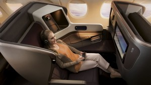 New Singapore Airlines Seat Business Class