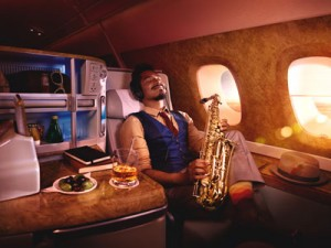 Relax Business  Class Auckland to London